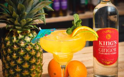 King's Pineapple Ginger Sparkler